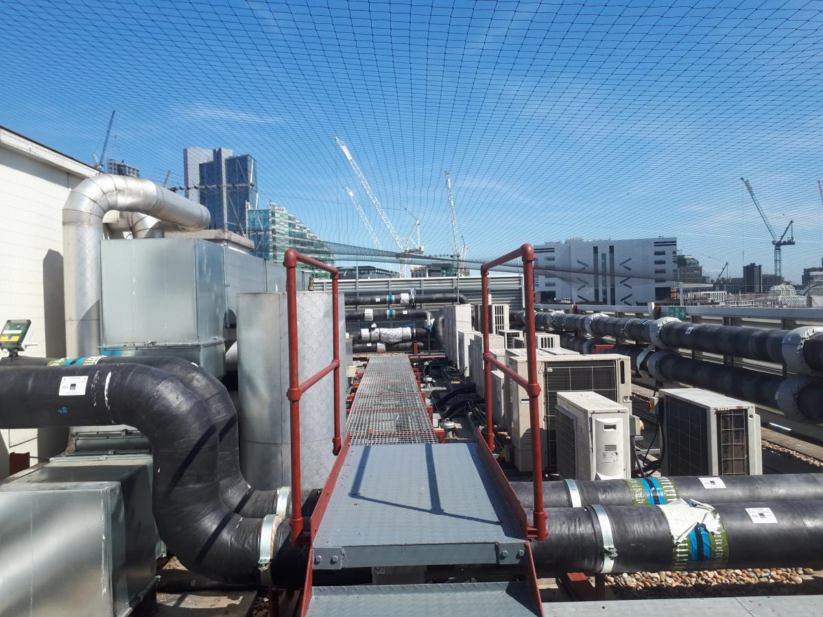 Image of our team completing pest control work at Afton Chemicals at 1 Finsbury Square in London