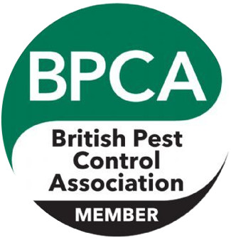 Image of our British Pest Control Association membership badge